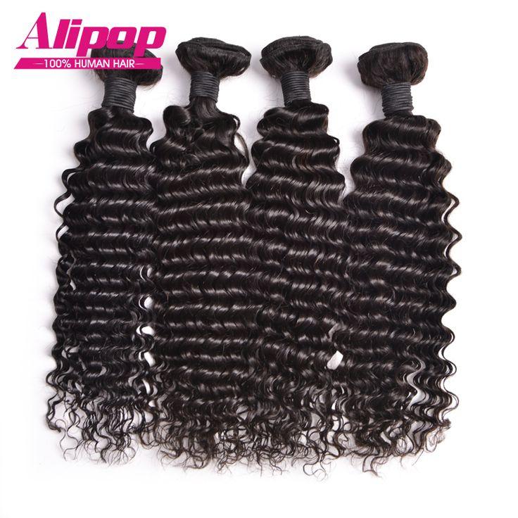 Taranya 8A Diolah Peru Perawan Rambut 4 Bundel Perawan Rambut Peru Dalam Gelombang 10 ''-26'' Peru rambut Rambut manusia Bundel