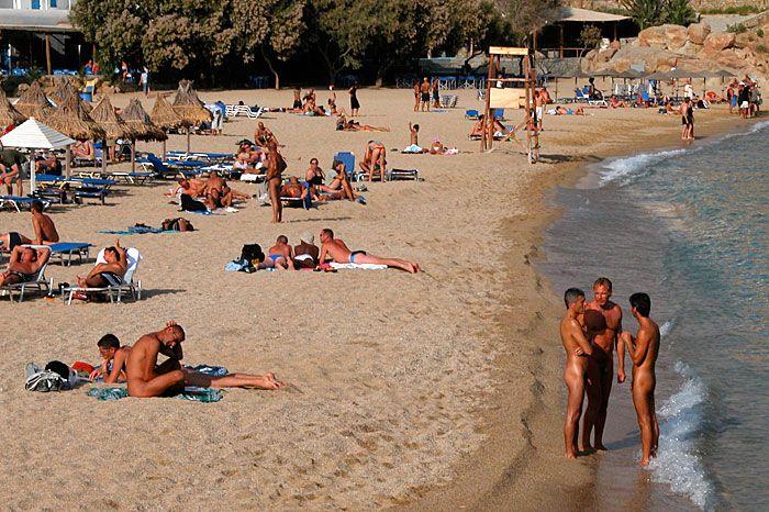 Paradise Beach- The nudist beach bummers enjoying the summer heat.