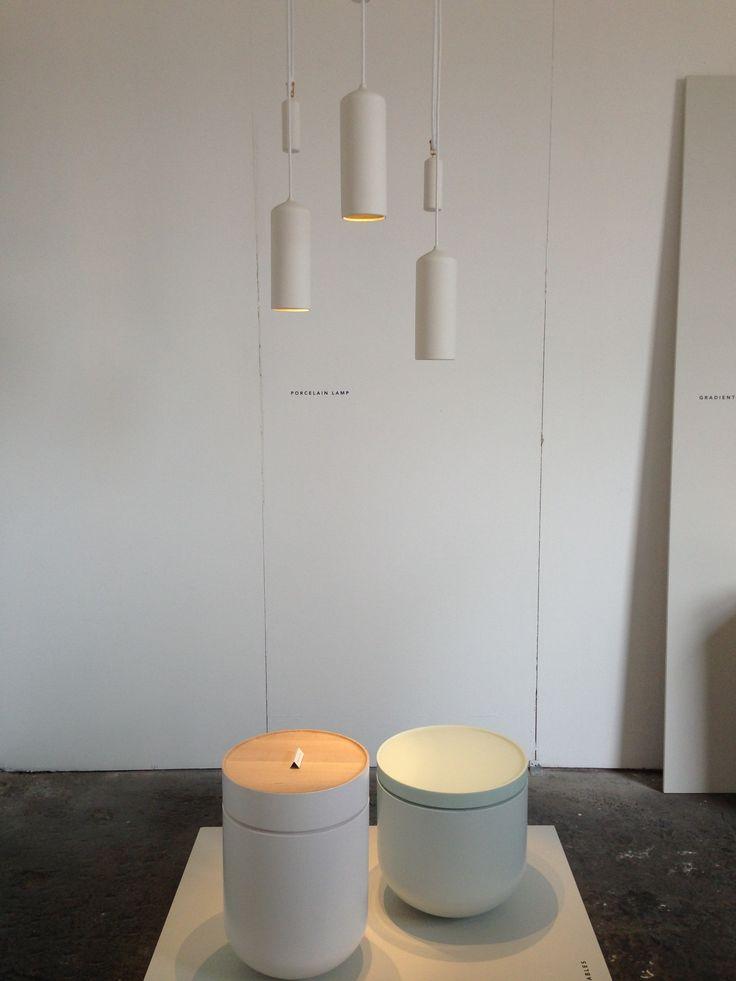 Lamp van Porcelein