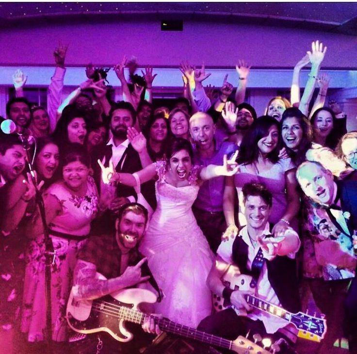 A Rocking Wedding!