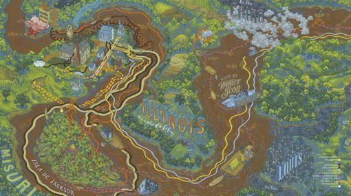 Diecinueve mapas para un viaje literario