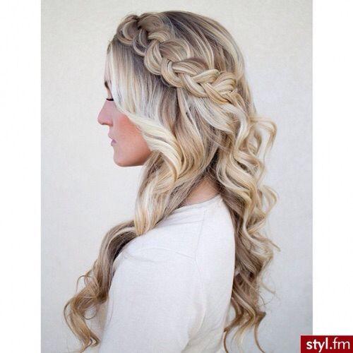 Hair idea, love how free it is