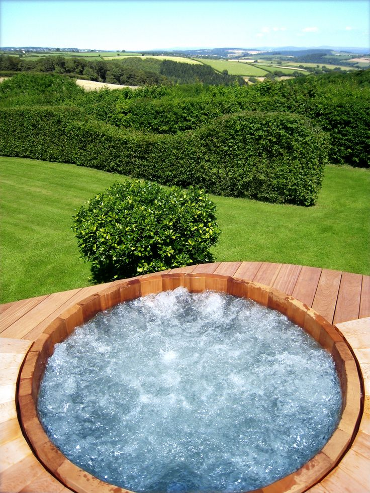 The 25 best Wooden Hot Tubs - Garden, Oasis images on Pinterest ...
