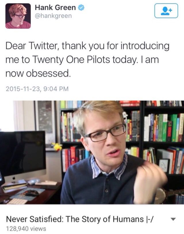Actually same. Twenty One Pilots Obsession |-/