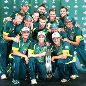 ICC CRICKET WORLD CUP 2015 AHEAD AUSTRALIA HOLD THE TOP SPOT IN ICC TEAM ODI RANKINGS