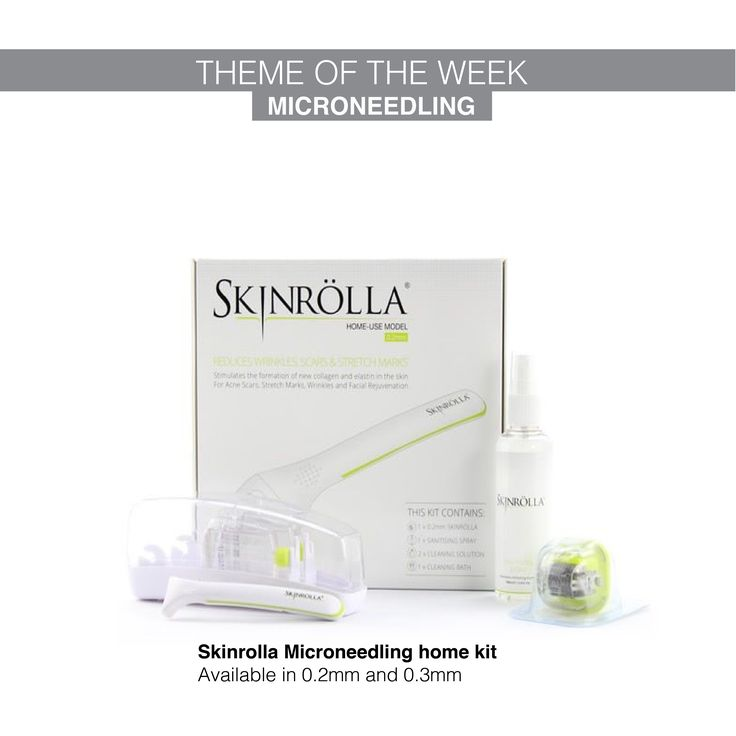 The skinrolla kit is ideal for both home and clinic use. Shop here https://www.dermacaredirect.co.uk/catalogsearch/result?attr=0&q=skinrolla&utm_content=buffer82a2b&utm_medium=social&utm_source=pinterest.com&utm_campaign=buffer  #dermacaredirect #microneedling #skincare