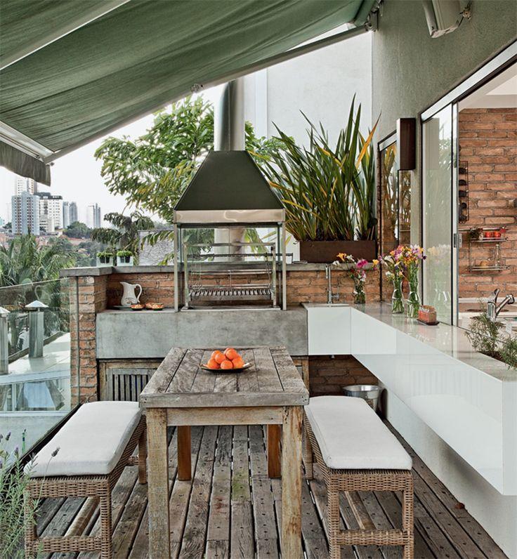 Ideas de parrillas en balcón y terrazas