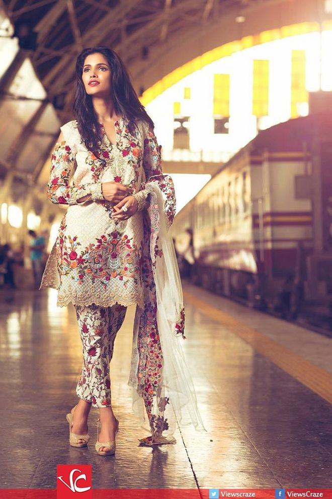 Mina Hasan Lawn Eid Collection 2016