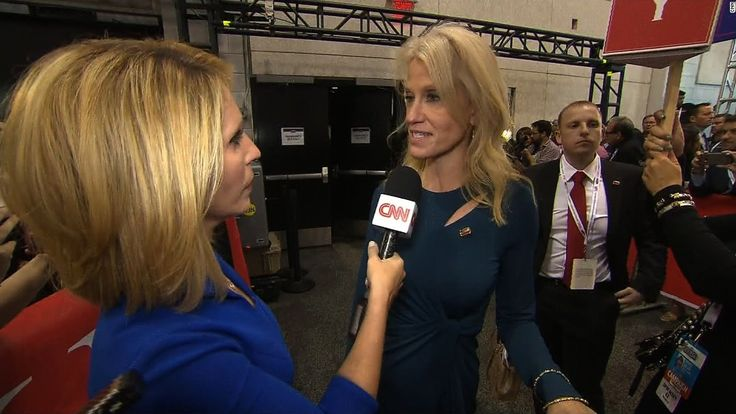 Trump campaign manager walks away on Bash : Trump campaign manager Kellyanne Conway abruptly ended an interview with CNN's Dana Bash just moments after the debate.