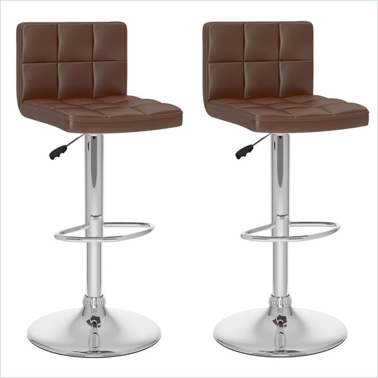 32  High Back Bar Stool in Brown (Set of 2)  sc 1 st  Pinterest & Best 25+ High back bar stools ideas on Pinterest | Bar stools ... islam-shia.org