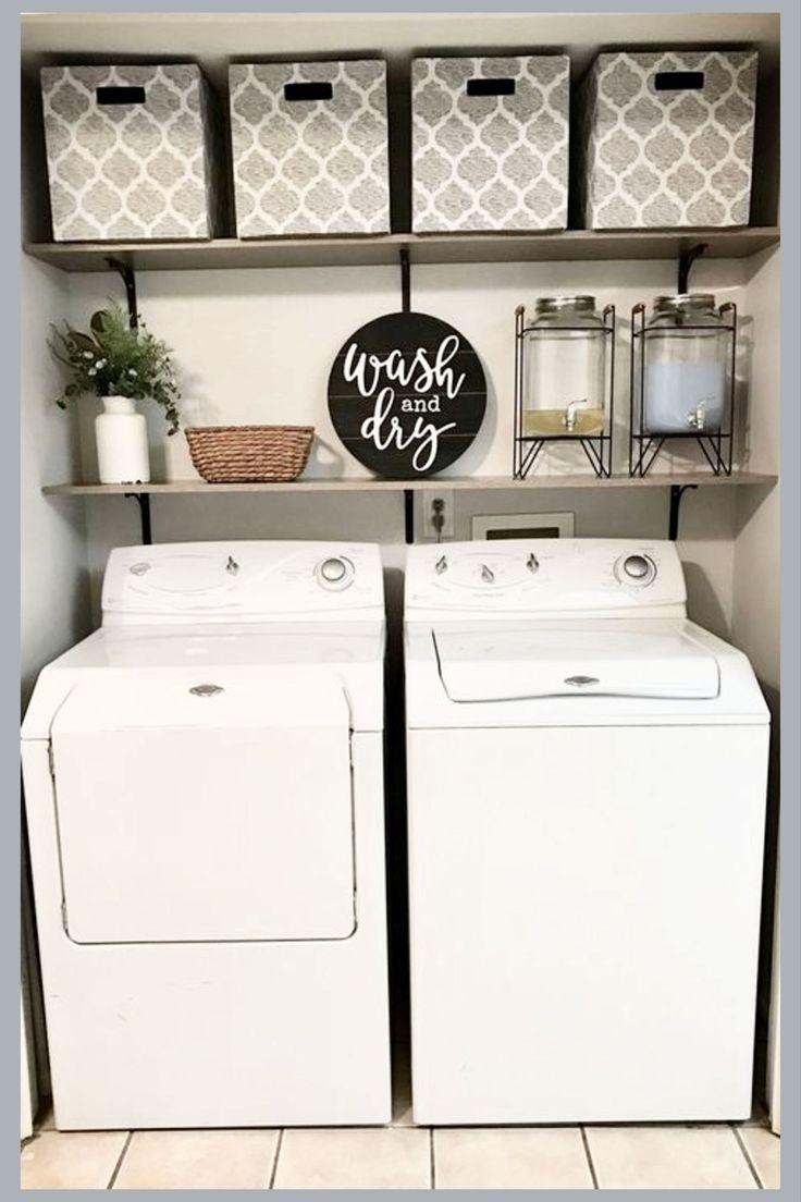 Small Laundry Room Ideas   Space Saving DIY Creative Ideas for ...