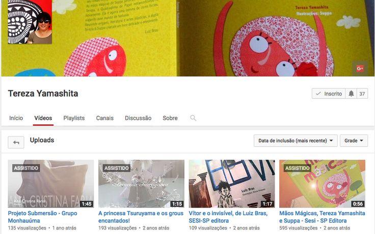 Canal Yamashita Vídeos sobre origamis e literatura infantil.  https://www.youtube.com/user/Yamashita2010/videos
