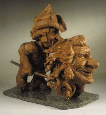 sculpture by Fred Cogelow