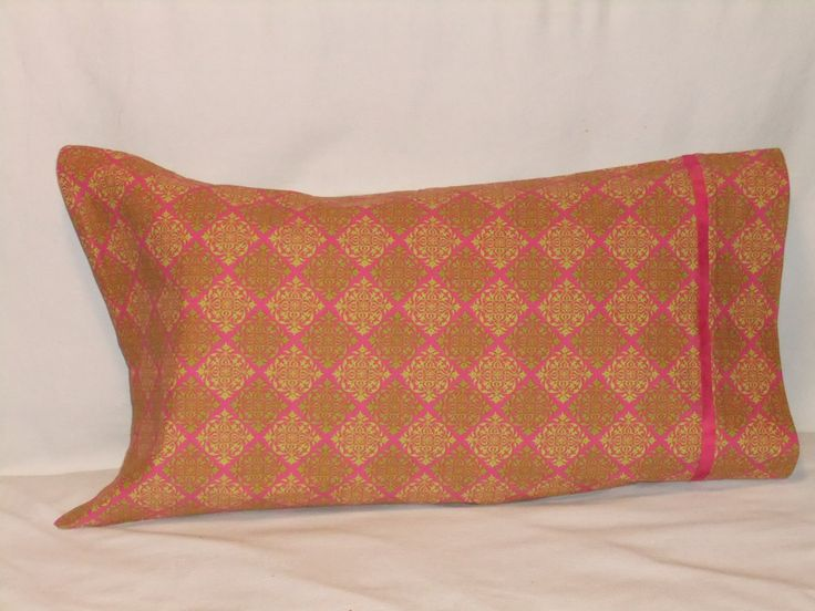 """CLASSY GRILLE PILLOWCASE - 20"""" x 35"""" by KatiesCOVERS on Etsy"""