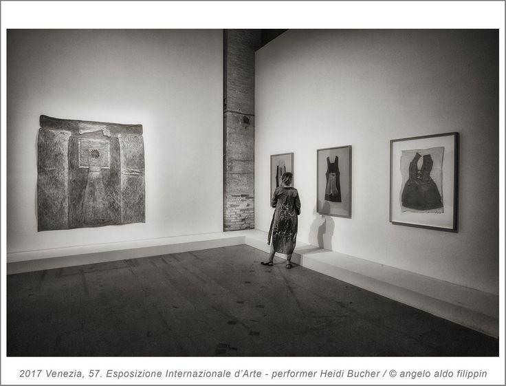 2017 Venezia, 57. Esposizione Internazionale d'Arte - performer Heidi Bucher