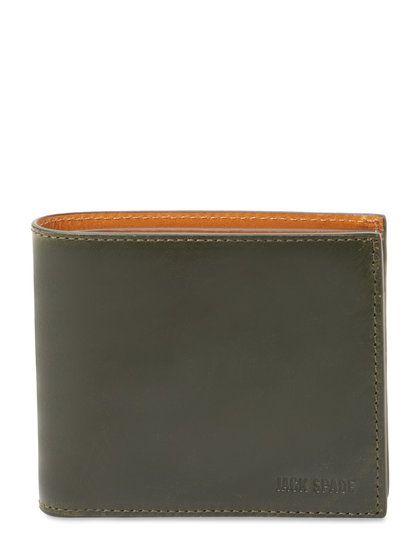 Mitchell Leather Bifold Wallet | Gilt