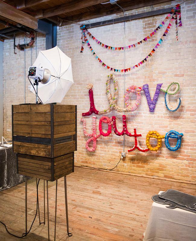 Photo: Cory Ryan Photography // Geometric Wedding Ideas // The Knot Market Mixer in Austin, TX