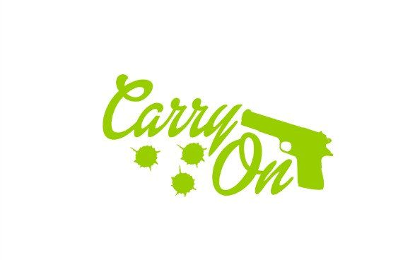Hey, I found this really awesome Etsy listing at https://www.etsy.com/listing/251557752/firearms-decal-concealed-carry-decal