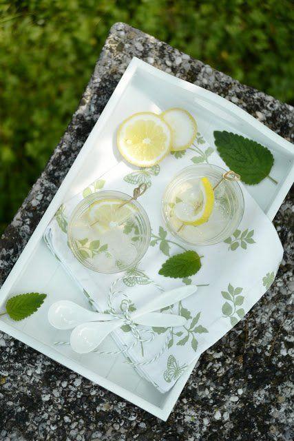 Menta-citromfű szörp