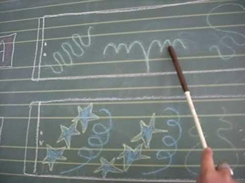 """Audición con musicograma. La sección """"c"""" está tomada de un libro de texto de secundaria del que no recuerdo la referencia.  Alumna: Meri Ber..."""