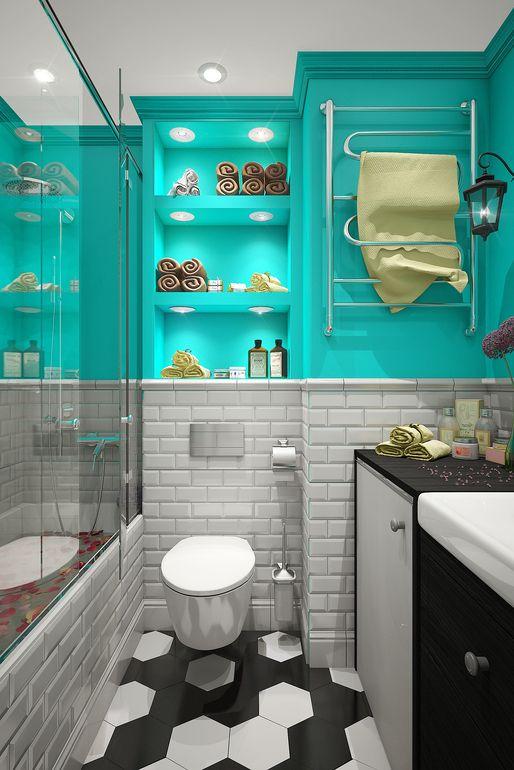 Бирюзовый лофт от пользователя «dp-interior» на Babyblog.ru