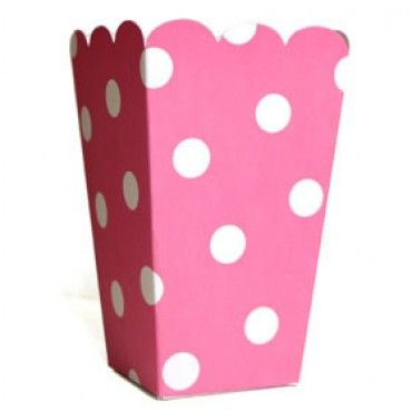 Treat Boxes Pink Polka Dot - Party Shop :: Big Dreams