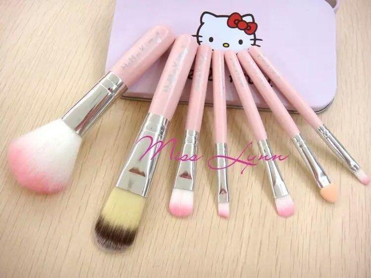 großhändler fashion kT 7 stück make-up pinsel set professionelle kosmetik pinsel-Sets make-up-Tools