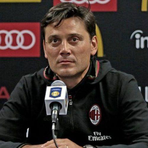 """Milan, Montella: """"Tra Roma e Napoli grande partita, spettacolo internazionale"""""""