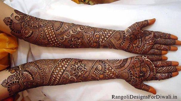 Full Hand Dulhan Mehandi Design