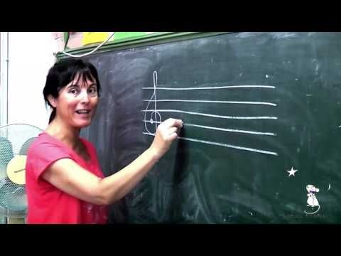 Cuento infantil: DO RE MI FA SOL agudos (pentagrama, clave de sol) de Estrella Ramon - YouTube