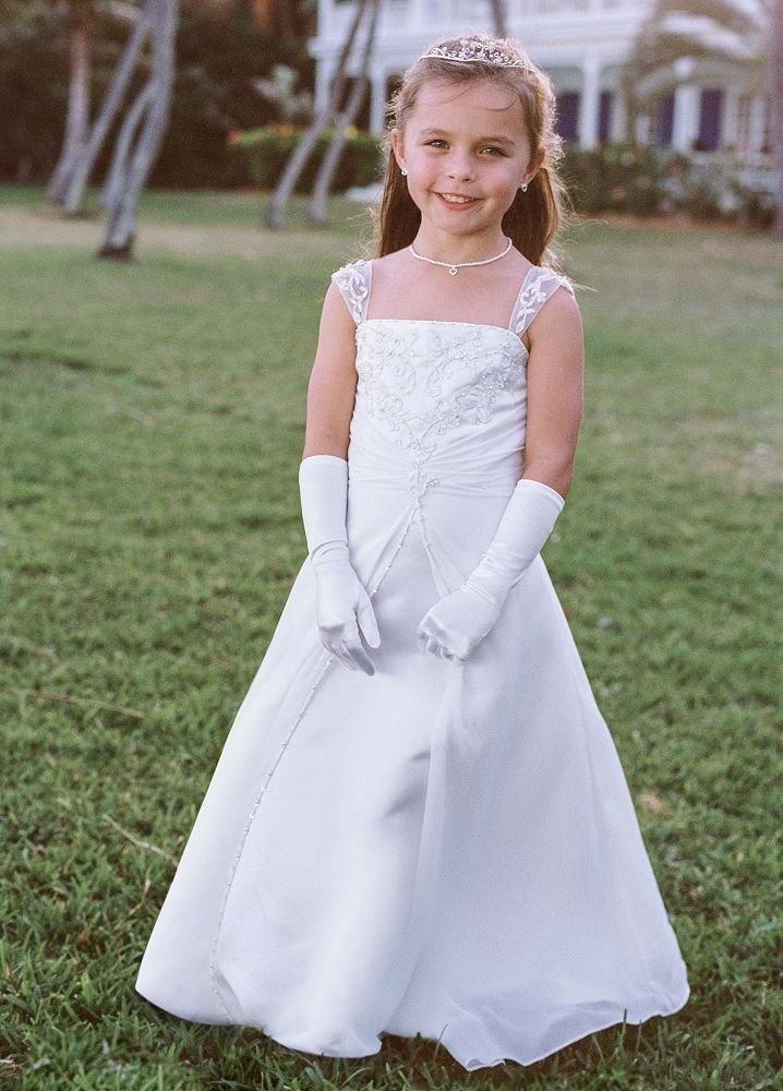 Flower Girl Jersey Davids Bridal : Best images about flower girl dresses on