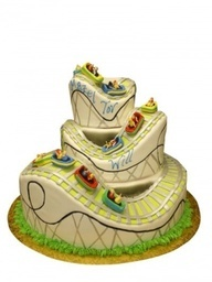 images of roller coaster cakes - Google Search