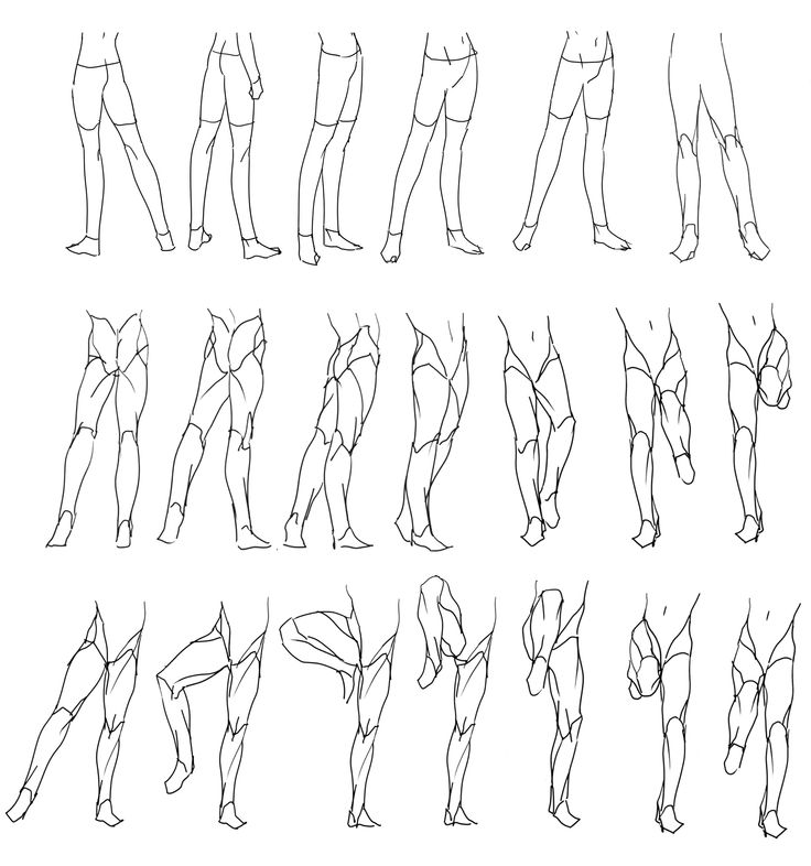 87 best images about references on pinterest sky doll for Body movement drawing