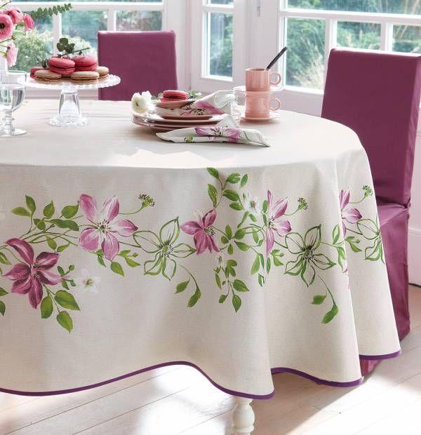 Une table raffinée pour enchanter vos invités : collection Jardin anglais…