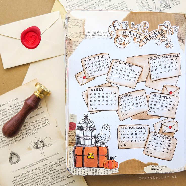 HARRY POTTER – Bullet Journal IDEAS – Planen Sie mit mir September 2019