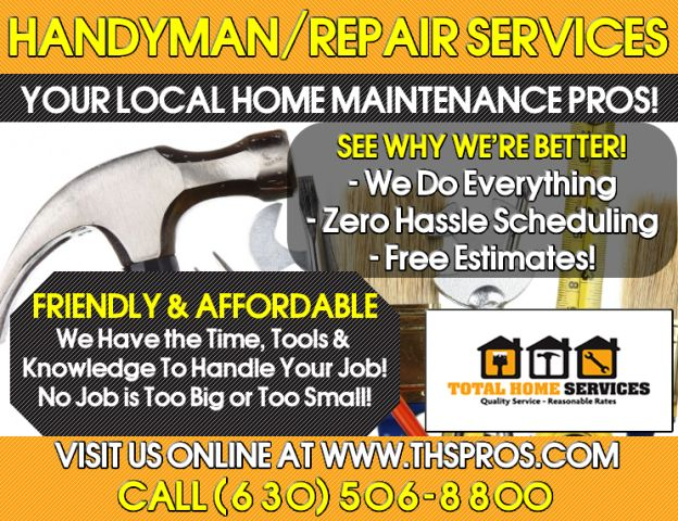 Total Home Services, LLC - Phone: (630) 506-8800 - www.thspros.com