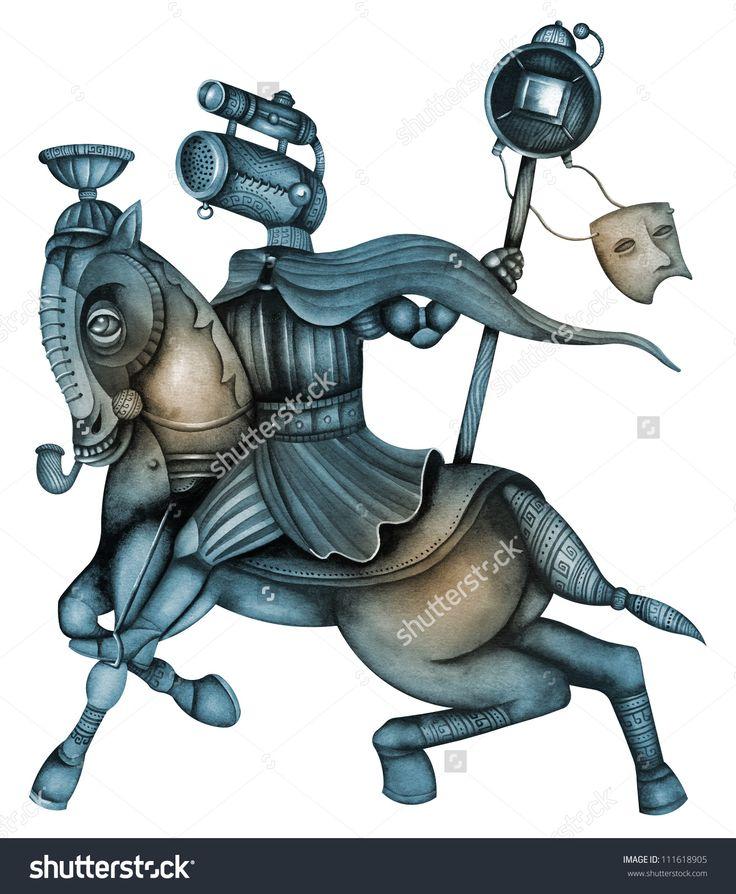 Horseman Of The Apocalypse by Eugene Ivanov. #eugeneivanov #steampunk #science #fiction #fantasy #machinery #victorian #illustration #art #original  #@eugene_1_ivanov