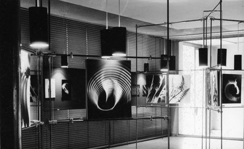 """""""EXPERIMENTELLE ÄSTHETIK"""" – MUSEUM OF APPLIED ARTS IN VIENNA 1959  The fiftieth Anniversary of an Exhibition    Ausstellung - Experimentelle Ästhetik"""