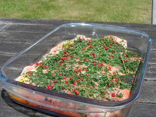 Proeven op zondag: Gemarineerde zalm op de bbq of in de oven gegaard!...