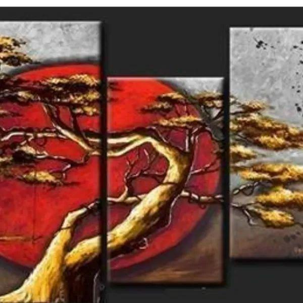 Cuadros Modernos Abstractos Minimalistas T E X T U R A D O S - $ 1.700,00 en MercadoLibre