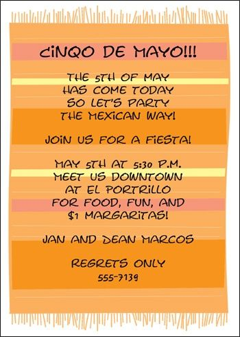 36 best Cinco de Mayo Mexican Party Invitations images on Pinterest
