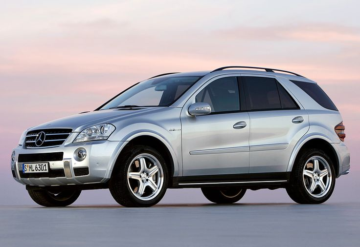 19 best images about mercedes benz w 164 m class now gle for Mercedes benz 2006 models