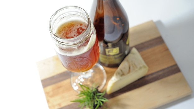 Beer and cheese pairing menu