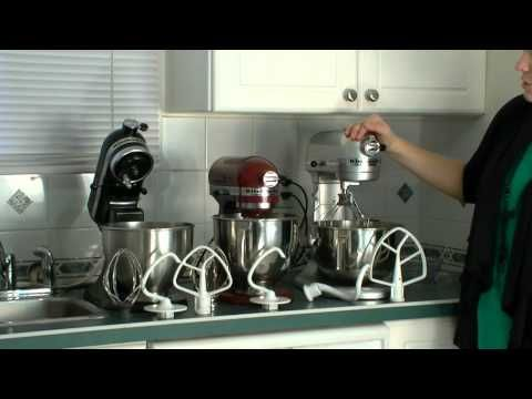 KitchenAid Pro vs. KitchenAid Artisan vs. KitchenAid Classic Compared - YouTube