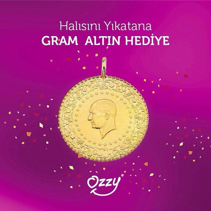 Ozzy Halıdan muhteşem kampanyaaa 🔈🔈 Ozzy Halı'da halısını yıkatan şanslı iki kişiye gram altın hediye 💰 Çekilişe katılım son tarih 24 Temmuz ⏳ Herkese bol şansss 🎀