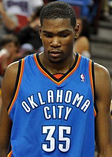 Kevin Durant - Plays for the Oklahoma City Thunder & Olympic Gold Metal Winner - Team USA Mens Basketball