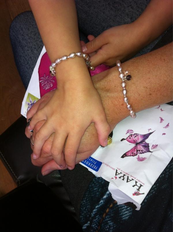 Lieve mama & dochter sieraden @www.kayasieraden.nl
