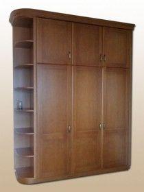 Egyedi beépített hálószoba szekrény 002