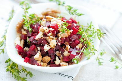9 Healing Foods that Boost your Metabolism plus a recipe included for Roasted Beet Ginger Salad. #healingfoods #beets #recipes