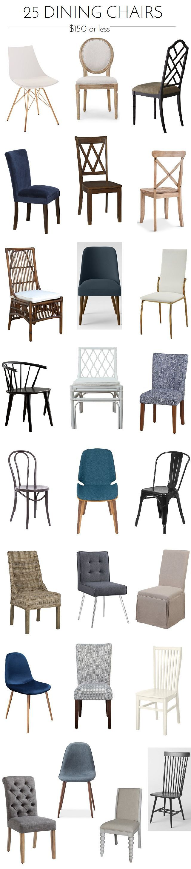 Great deals! Holiday Prep: 25 Dining Chairs Under $150 - Emily A. Clark